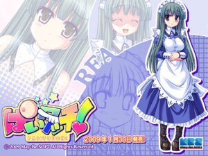 Rating: Questionable Score: 9 Tags: akaza dress maid may-be_soft pai_touch! rea sketch topless wallpaper User: alimilena