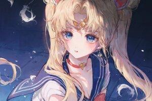 Rating: Safe Score: 27 Tags: cleavage maccha_(mochancc) sailor_moon seifuku tsukino_usagi User: Mr_GT