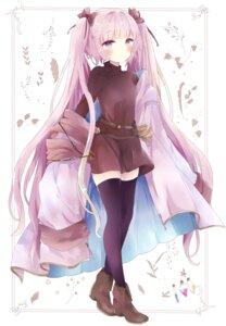 Rating: Safe Score: 22 Tags: dress heels thighhighs tsukiyo_(skymint) User: Arsy