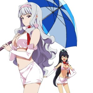 Rating: Questionable Score: 29 Tags: a1 areola cleavage ganaha_hibiki initial-g shijou_takane the_idolm@ster User: Radioactive