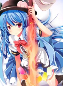 Rating: Safe Score: 27 Tags: hinanawi_tenshi lulubell sword touhou User: Radioactive