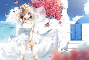 Rating: Safe Score: 23 Tags: akara cleavage dress see_through wedding_dress User: fairyren