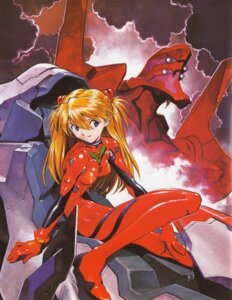 Rating: Questionable Score: 21 Tags: bodysuit erect_nipples eva_02 neon_genesis_evangelion sadamoto_yoshiyuki souryuu_asuka_langley User: Radioactive