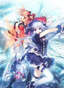 Rating: Safe Score: 76 Tags: alyn_(fairyfencer_f) fairyfencer_f jpeg_artifacts tiara_(fairyfencer_f) tsunako User: milumon