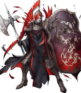 Rating: Questionable Score: 5 Tags: armor dai-xt fire_emblem fire_emblem_heroes fire_emblem_three_houses flame_emperor heels nintendo torn_clothes weapon User: fly24