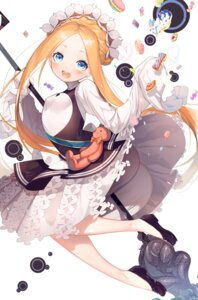 Rating: Questionable Score: 5 Tags: abigail_williams_(fate/grand_order) ass bloomers fate/grand_order hamada_pochiwo maid skirt_lift User: yanis