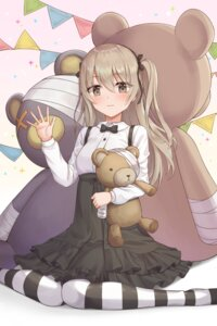 Rating: Safe Score: 13 Tags: bandages dress girls_und_panzer gothic_lolita lolita_fashion pantyhose shimada_arisu ssalgolae User: Dreista
