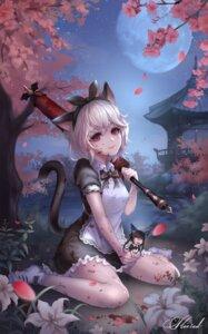 Rating: Safe Score: 33 Tags: animal_ears blade_&_soul blood chibi kie_(wylee2212) lyn_(blade_&_soul) maid nekomimi tail umbrella User: BattlequeenYume