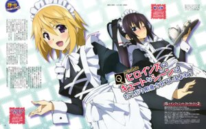 Rating: Safe Score: 37 Tags: anno_masato charlotte_dunois infinite_stratos infinite_stratos_2 maid shinonono_houki waitress User: drop