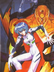 Rating: Safe Score: 10 Tags: ayanami_rei bodysuit eva_00 neon_genesis_evangelion User: Radioactive