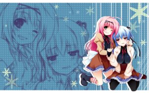 Rating: Safe Score: 18 Tags: asa_project kinomoto_hana kinomoto_nokia renai_zero_kilometer wallpaper User: sy1412