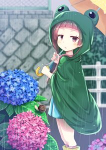 Rating: Safe Score: 20 Tags: 0141zucker harumi_shinju tokyo_7th_sisters umbrella User: Mr_GT