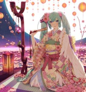 Rating: Safe Score: 31 Tags: hatsune_miku kimono nayu vocaloid User: Radioactive