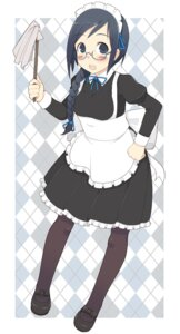 Rating: Safe Score: 10 Tags: maid megane oza_watto pantyhose User: Hitagi