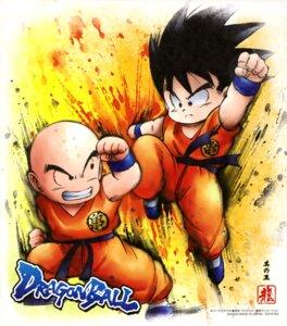 Rating: Safe Score: 4 Tags: dragon_ball kuririn male son_goku uniform User: drop