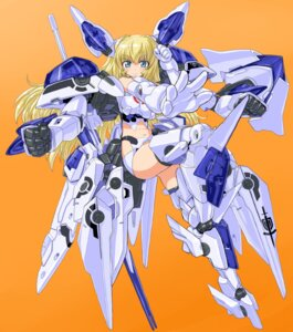 Rating: Safe Score: 21 Tags: altlene busou_shinki dd mecha_musume thighhighs User: gogotea28