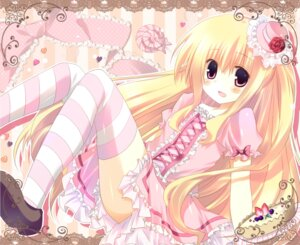 Rating: Safe Score: 33 Tags: kinoko lolita_fashion thighhighs User: blooregardo