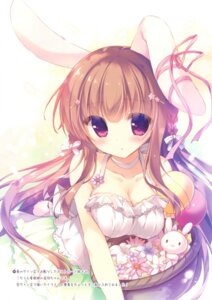 Rating: Questionable Score: 61 Tags: animal_ears bunny_ears cleavage yukie User: Twinsenzw