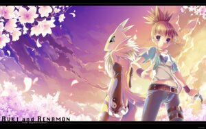 Rating: Safe Score: 12 Tags: =3= digimon digimon_tamers makino_ruki renamon wallpaper User: fairyren