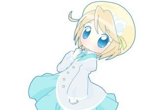 Rating: Safe Score: 3 Tags: chibi fushigiboshi_no_futago_hime fushigiboshi_no_futago_hime_gyu mirai mirlo seifuku wallpaper User: Manabi