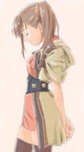 Rating: Safe Score: 36 Tags: dress kadowaki_satoshi kajika koutetsujou_no_kabaneri thighhighs User: fireattack