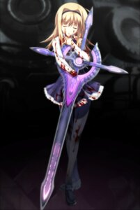 Rating: Questionable Score: 30 Tags: blood chaos;head game_cg guro matsuo_yukihiro nishijou_nanami pantyhose seifuku sword User: xxyxareo