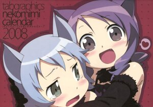 Rating: Safe Score: 13 Tags: animal_ears kanzaki_hiro nekomimi tabgraphics User: thfp