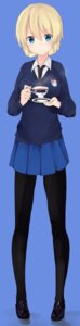 Rating: Safe Score: 25 Tags: darjeeling girls_und_panzer pantyhose seifuku sweater tagme User: Radioactive