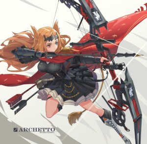 Rating: Questionable Score: 13 Tags: archetto_(arknights) arknights garter heterochromia sima_naoteng skirt_lift tail uniform weapon User: Dreista
