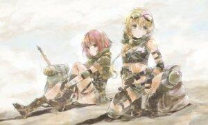 Rating: Questionable Score: 16 Tags: gun hosoi_mieko thighhighs uniform weapon User: nphuongsun93