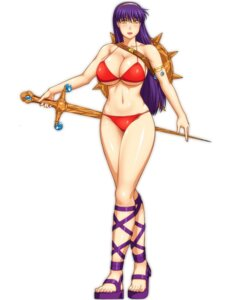 Rating: Questionable Score: 10 Tags: ameoto bikini cleavage king_of_fighters princess_athena snk swimsuits sword underboob User: Yokaiou