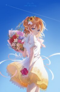 Rating: Safe Score: 34 Tags: iooo666 kousaka_honoka love_live! seifuku skirt_lift User: hiroimo2