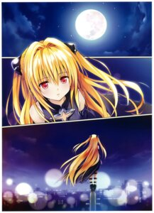 Rating: Safe Score: 32 Tags: golden_darkness to_love_ru to_love_ru_darkness yabuki_kentarou User: fireattack
