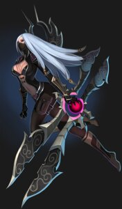 Rating: Questionable Score: 43 Tags: cleavage irelia league_of_legends tyutii weapon User: cochoman