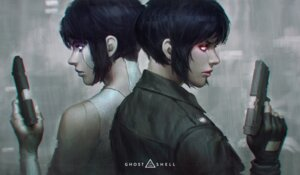Rating: Safe Score: 20 Tags: ghost_in_the_shell gun guweiz kusanagi_motoko User: charunetra