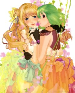Rating: Safe Score: 11 Tags: ebata_risa macross macross_frontier ranka_lee sheryl_nome User: Ravenblitz