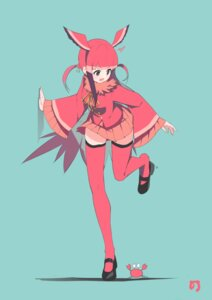 Rating: Safe Score: 35 Tags: famy_siraso kemono_friends scarlet_ibis thighhighs wings User: nphuongsun93
