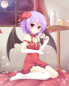 Rating: Safe Score: 40 Tags: pen-zin remilia_scarlet thighhighs touhou User: tbchyu001