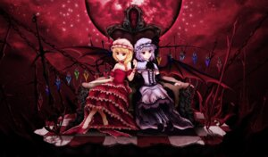 Rating: Safe Score: 14 Tags: flandre_scarlet remilia_scarlet skyspace touhou User: gnarf1975