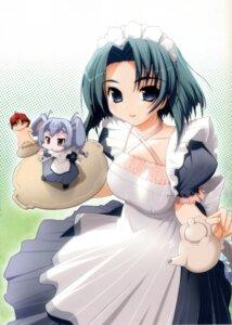 Rating: Safe Score: 16 Tags: akata_itsuki chibi hime-sama_ririshiku! maid User: Wraith