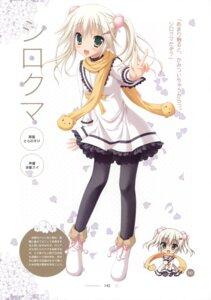 Rating: Safe Score: 45 Tags: dress hatsuyuki_sakura pantyhose saga_planets seifuku shirokuma toranosuke User: crim