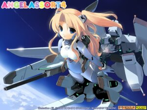 Rating: Safe Score: 15 Tags: gadget_trial jiji mecha_musume wallpaper User: fireattack