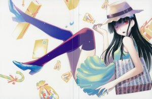 Rating: Safe Score: 43 Tags: color_gap crease dress sanka_rea sankarea thighhighs User: Radioactive