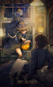 Rating: Safe Score: 42 Tags: dress halloween torn_clothes tsukun112 witch User: Mr_GT