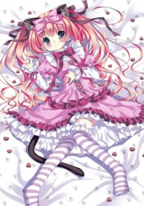 Rating: Safe Score: 28 Tags: animal_ears dress lolita_fashion masushita_ito nekomimi tail thighhighs User: blooregardo