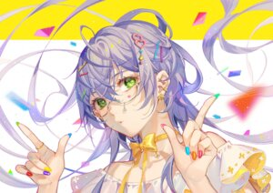 Rating: Safe Score: 16 Tags: luo_tianyi megane tidsean vocaloid User: Mr_GT