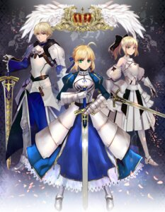 Rating: Safe Score: 24 Tags: armor fate/prototype fate/stay_night fate/unlimited_codes fate/zero saber saber_(fate/prototype) saber_lily sword weed_(astarone) User: Riven