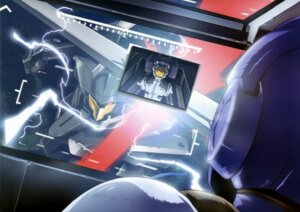 Rating: Safe Score: 3 Tags: graham_aker gundam gundam_00 mecha setsuna_f_seiei sword union_flag User: drop