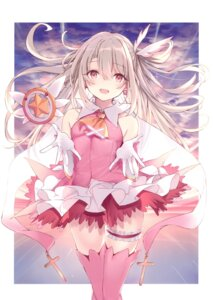 Rating: Safe Score: 45 Tags: dress fate/kaleid_liner_prisma_illya fate/stay_night garter illyasviel_von_einzbern magical_ruby nanananana thighhighs weapon User: kiyoe