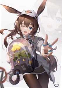 Rating: Safe Score: 22 Tags: amiya_(arknights) animal_ears arknights asc11 bunny_ears pantyhose User: Mr_GT